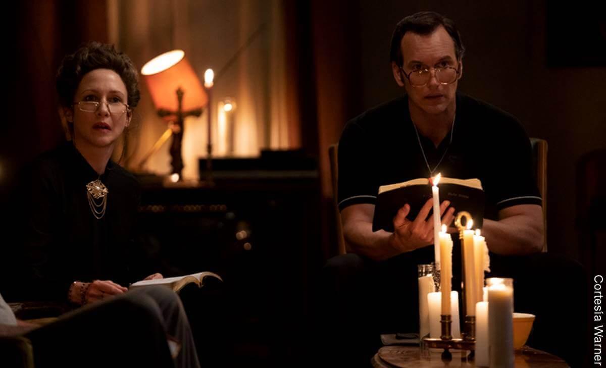 Escena de la película el Conjuro 3