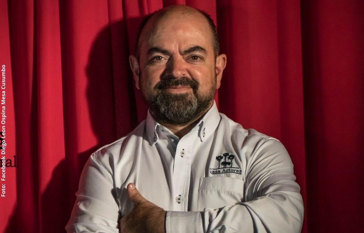 Falleció el actor Diego León Ospina, conocido como 'Cusumbo'