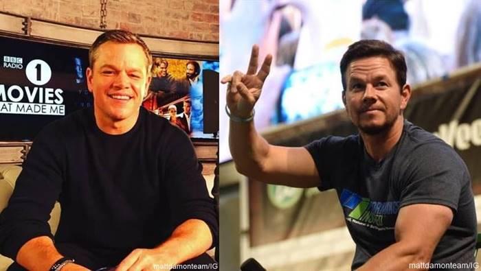 Foto de Matt Damon y Mark Wahlberg