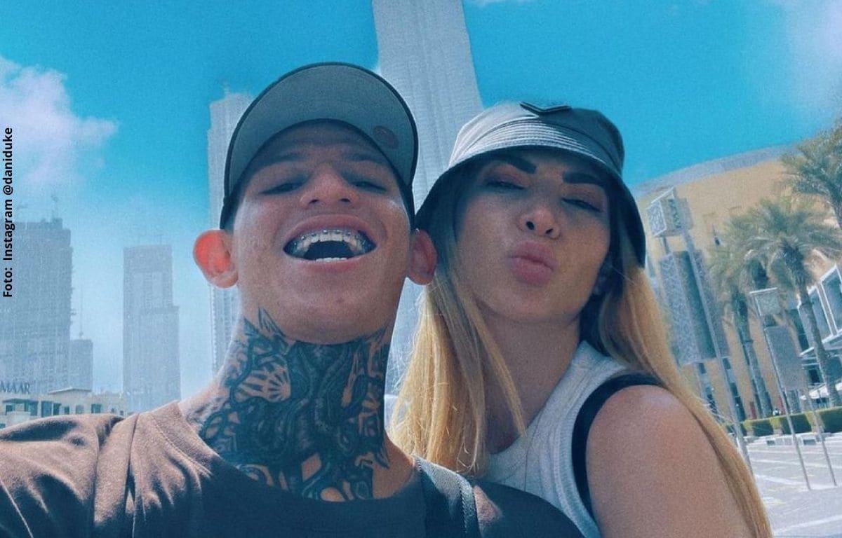 La Liendra y Dani Duke presumen sus vacaciones por Dubái