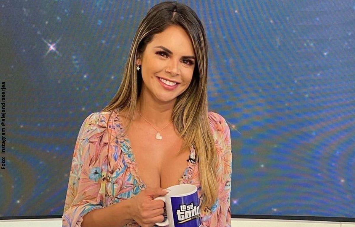 La razón por la que Alejandra Serje saldrá de la televisión por unos días