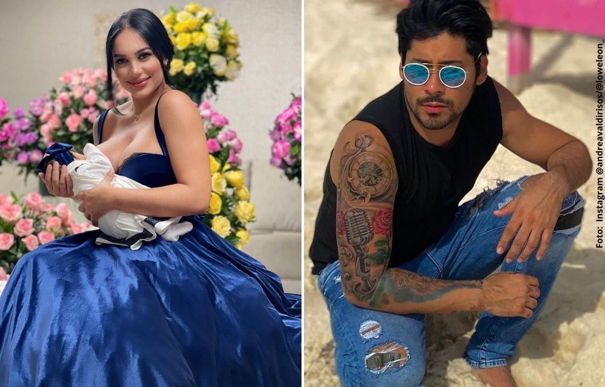 Las fotos por las que dicen que bebé de Andrea Valdiri se parece a Lowe León