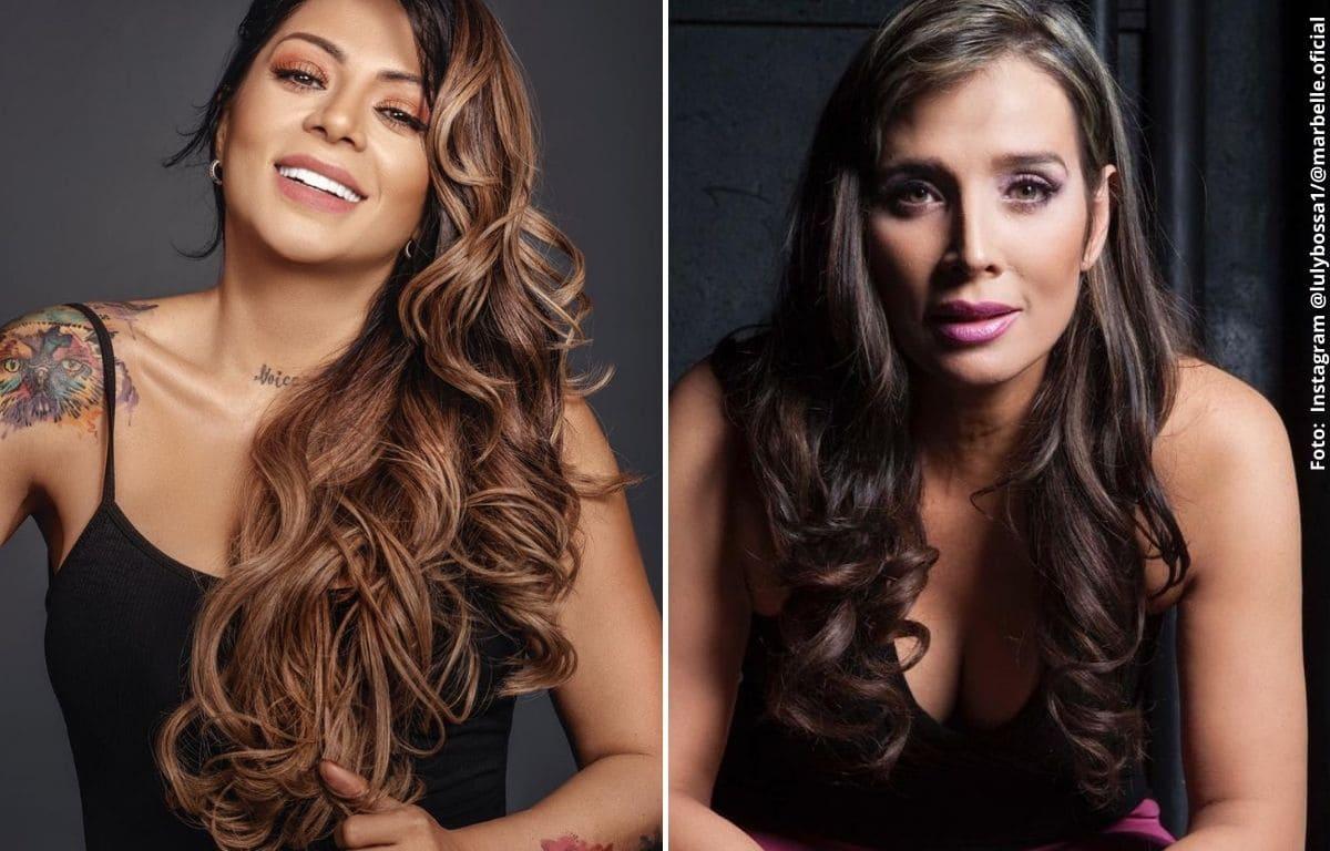 Luly Bossa y Marbelle se enfrentaron sobre el paro nacional