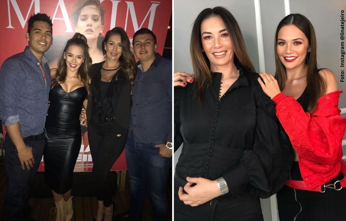 """Mamá de Lina Tejeiro confesó que le dio """"juete"""" a sus hijos y generó controversia"""
