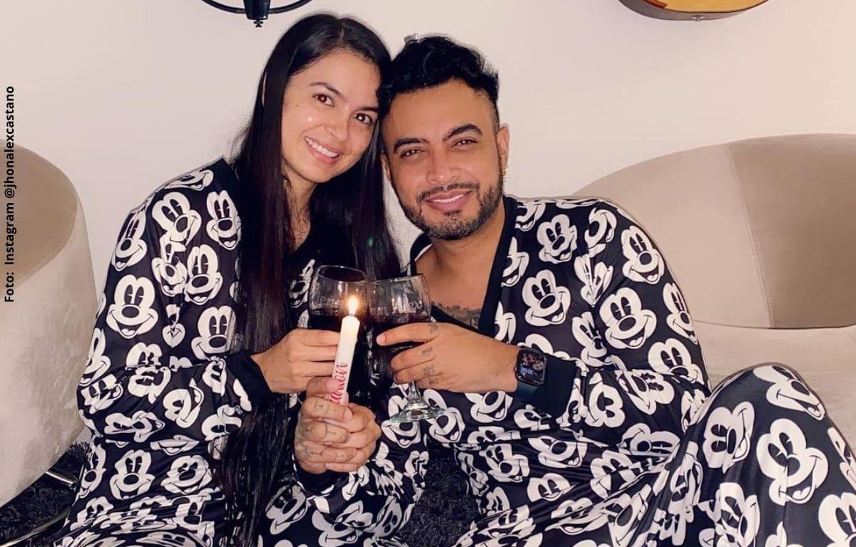 Novia de Jhon Alex Castaño podría estar embarazada