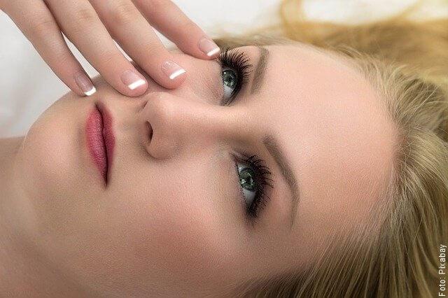 foto de mujer con piel suave