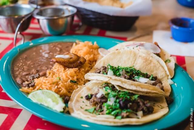 foto de comida mexicana