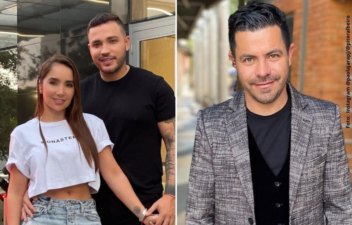 Piter Albeiro y Jessi Uribe de rumba en yate con sus novias