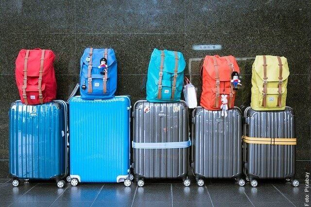 foto de maletas de viaje