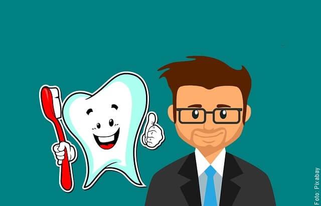 ilustración de cuidado bucal