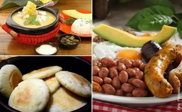 imagen de comida colombiana