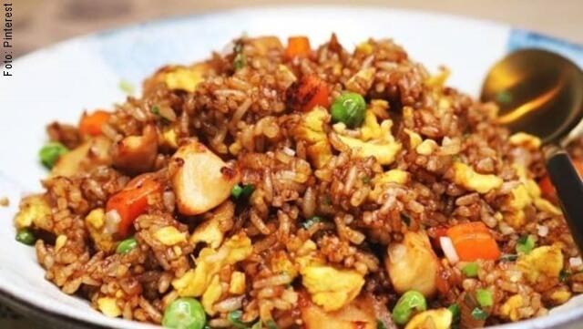 foto de arroz chino