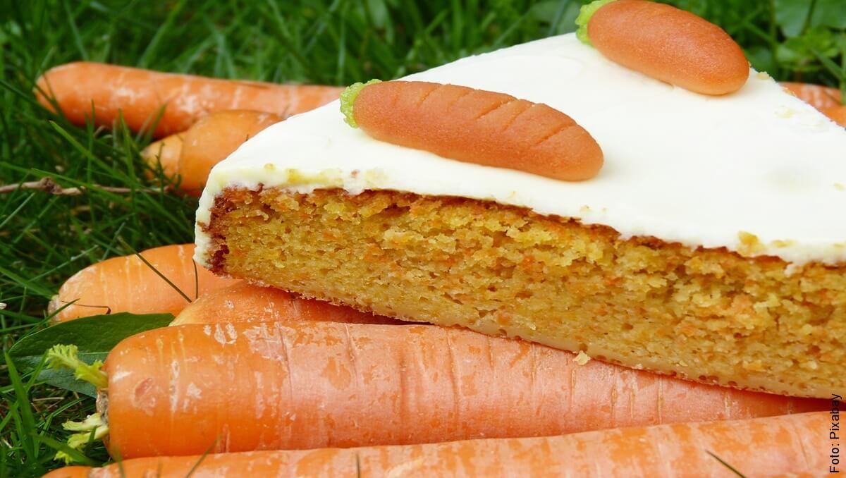 Receta de torta de zanahoria, ¡como de la abuela!