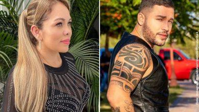 Sandra Barrios envió indirecta a Jessi Uribe en el día del padre