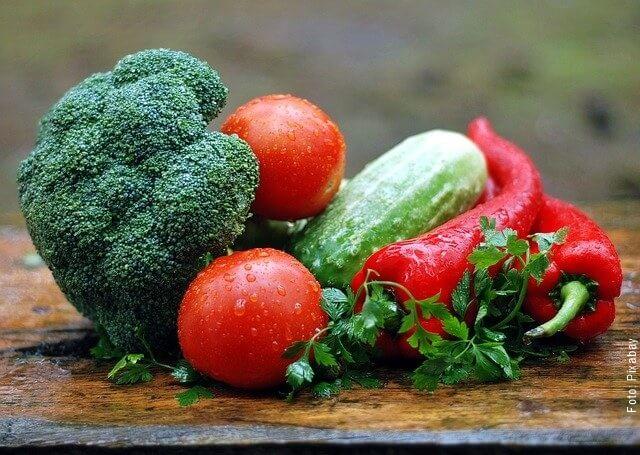 foto de vegetales