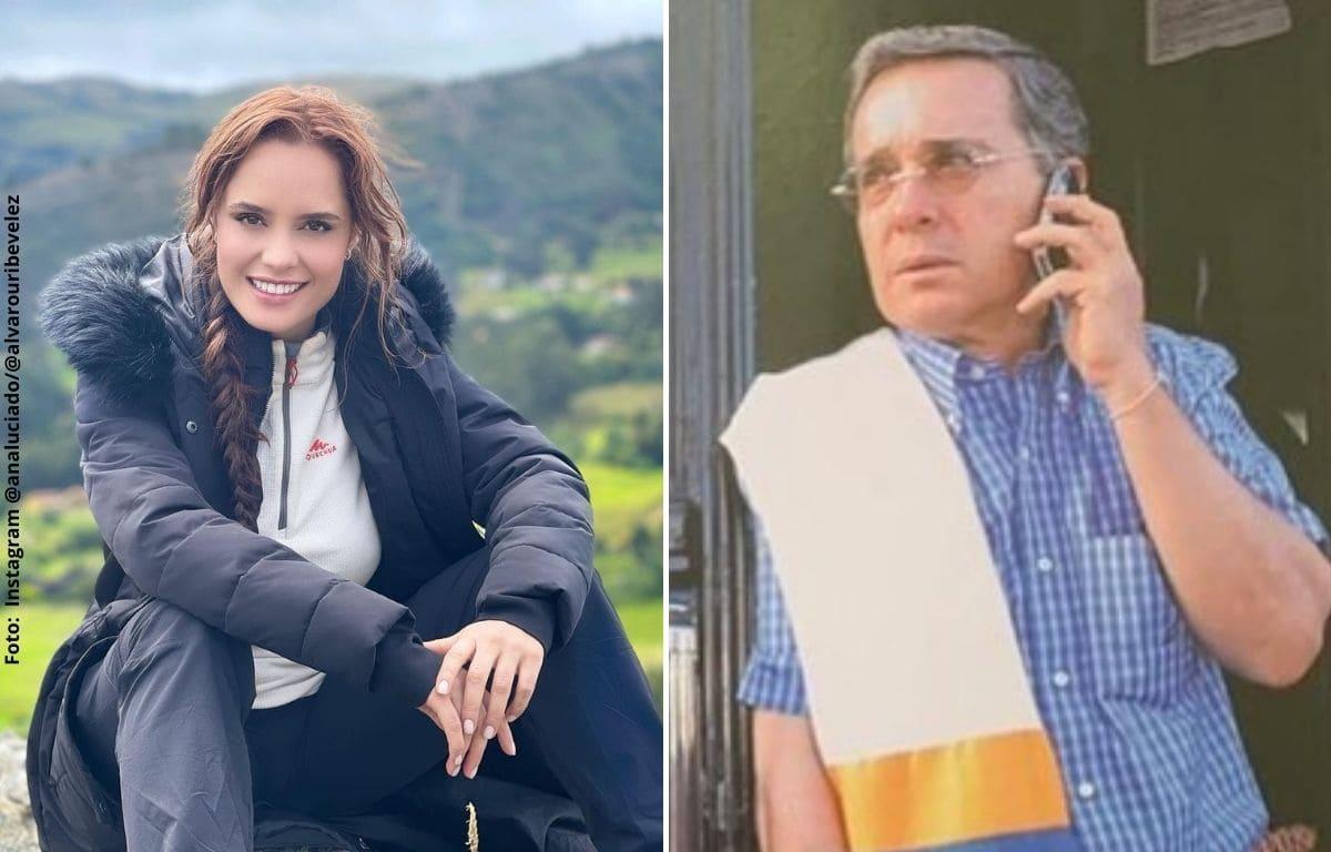 Ana Lucía Domínguez explica por qué está agradecida con Álvaro Uribe