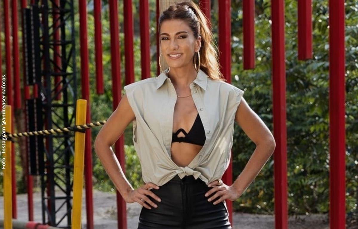 Andrea Serna se sincera sobre si 'El Desafío' es libreteado