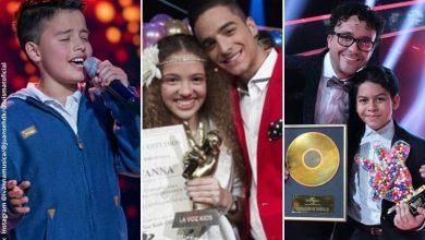 Así lucen hoy en día los niños ganadores de 'La Voz Kids'