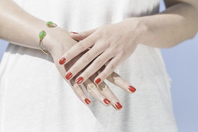 foto de uñas fuertes