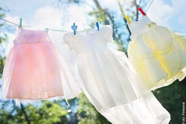 foto de ropa blanca