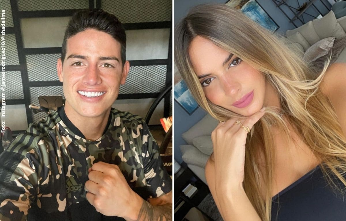 Detalles comprobarían que James Rodríguez y Shannon de Lima habrían terminado