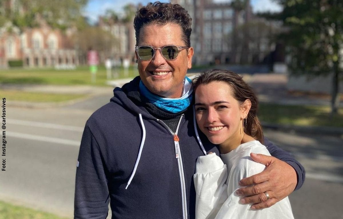 Hija de Carlos Vives confirma si le gustan los hombres o las mujeres
