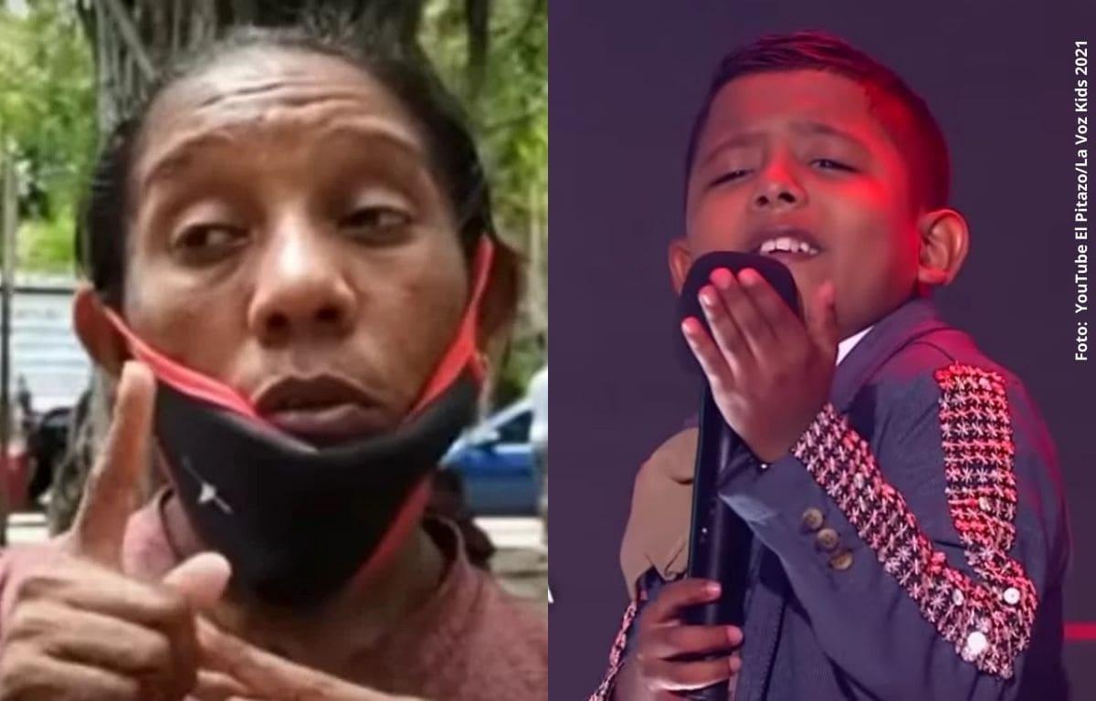 Madre de niño venezolano de 'La Voz Kids' apareció tras verlo en televisión