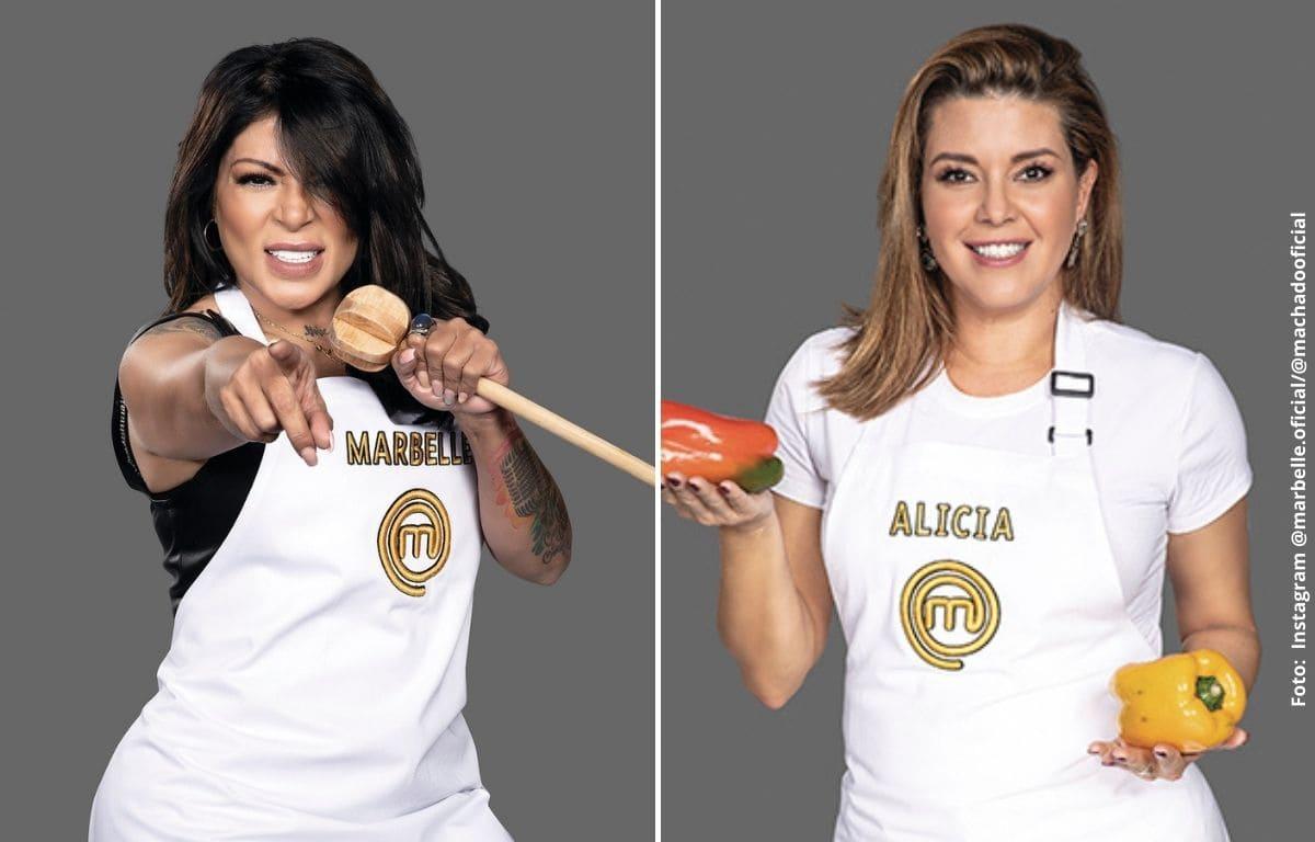 MasterChef Celebrity: La fuerte acusación que Marbelle hizo sobre Alicia Machado
