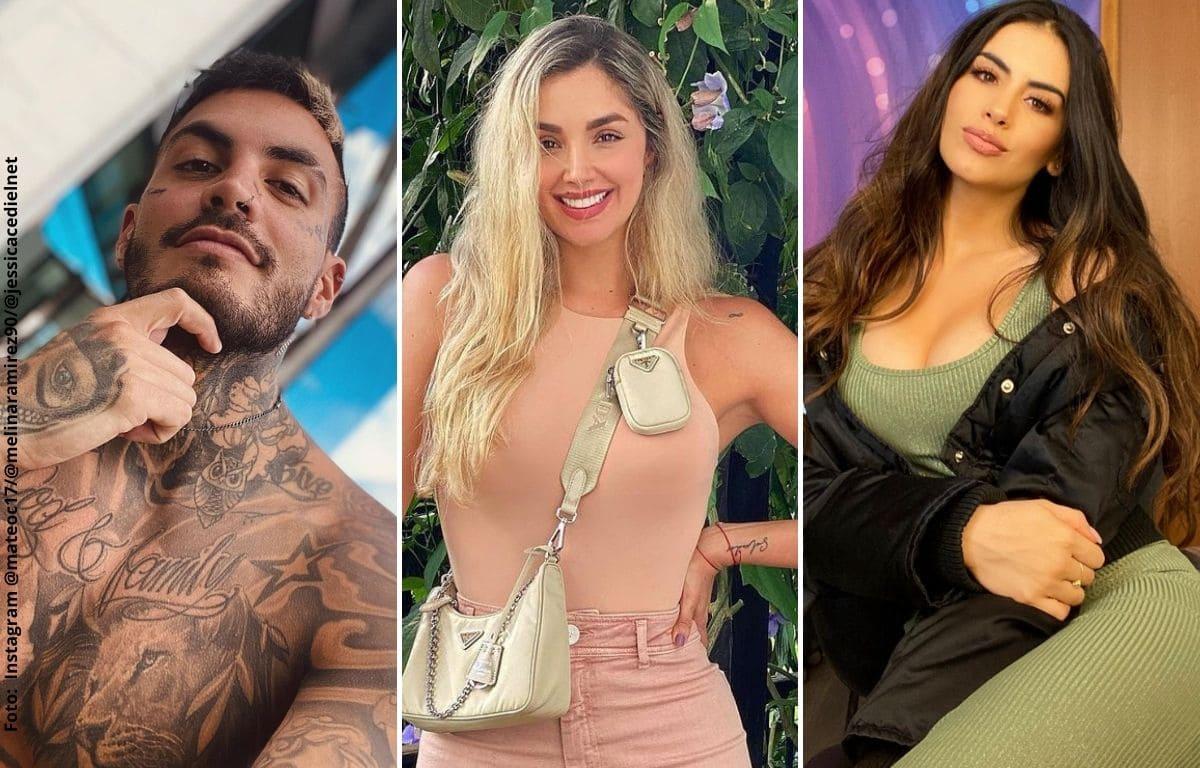Mateo Carvajal se sinceró sobre Melina Ramírez y Jessica Cediel