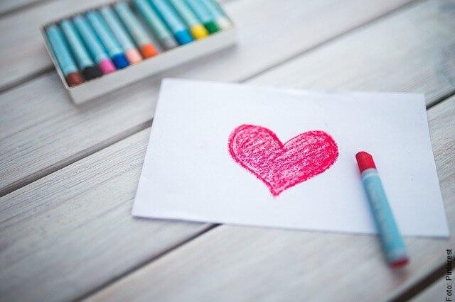 foto de dibujo de corazón