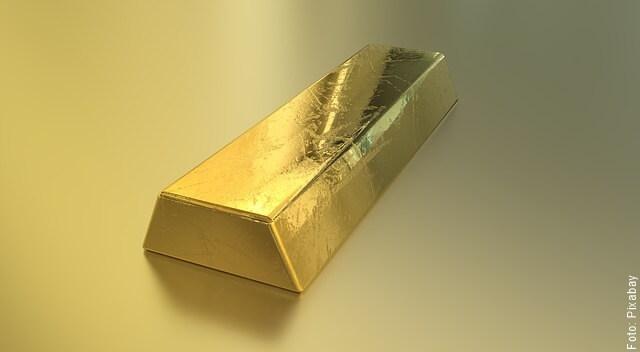 foto de lingote de oro