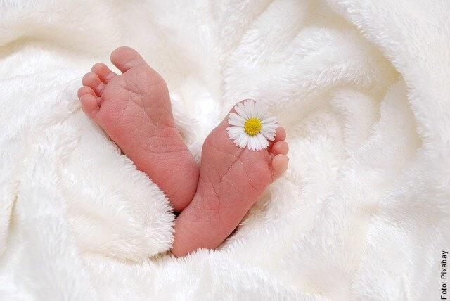 foto de píes de bebé