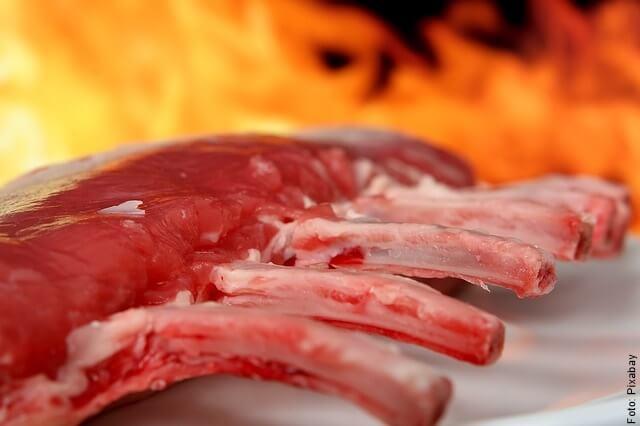 foto de cómo hacer costillas de cerdo