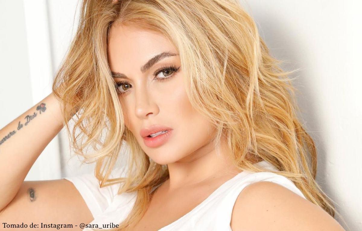 Sara Uribe enseñó parte de su entrepierna con sensual body