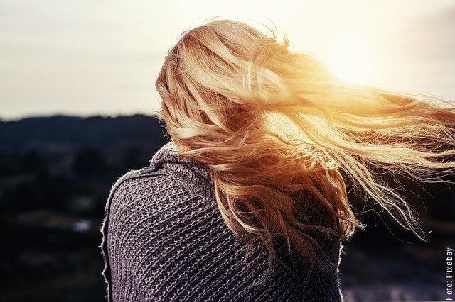 foto de cabello de mujer