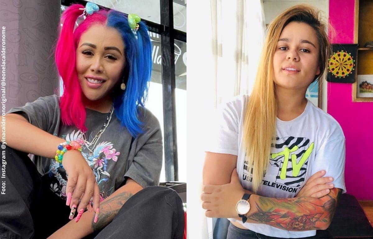 Yina Calderón y su hermana orinan en la calle y reciben críticas