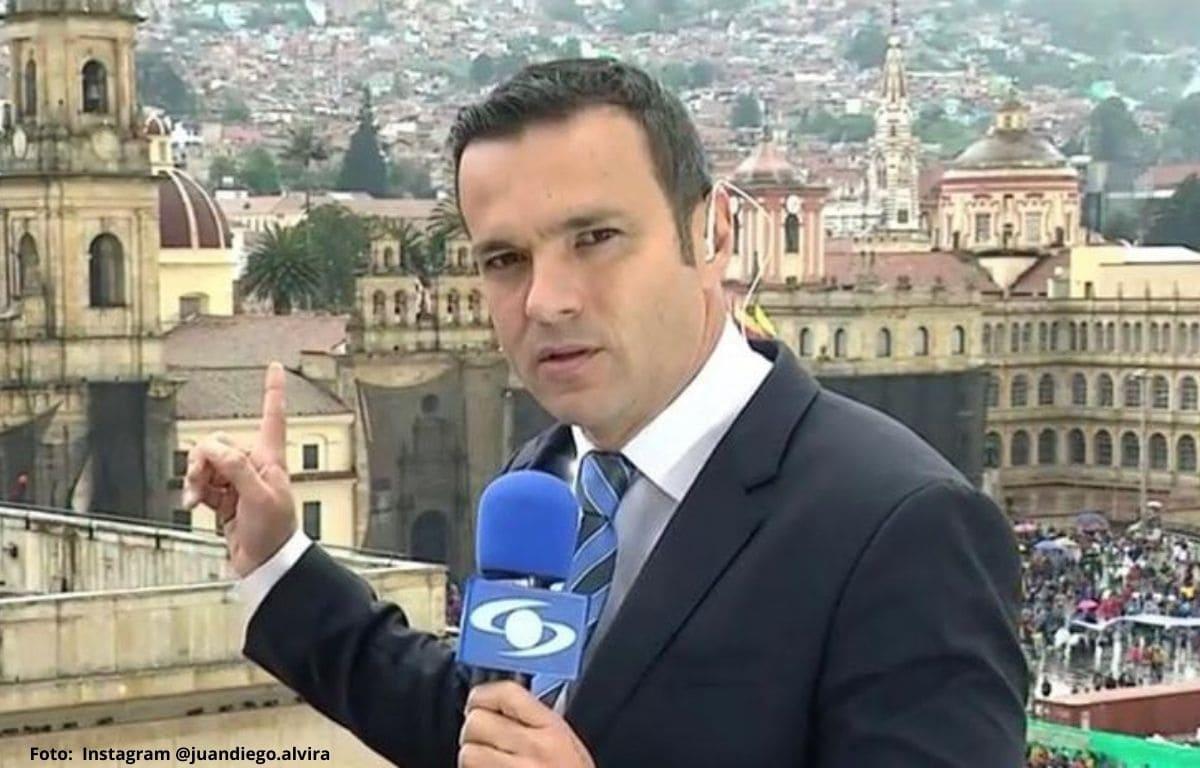 """A Juan Diego Alvira le dijeron """"gordito"""" en Noticias Caracol"""