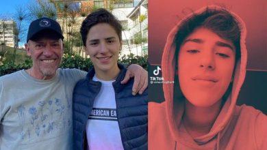 Burlas sobre el hijo de Diego Trujillo por curioso canto en TikTok