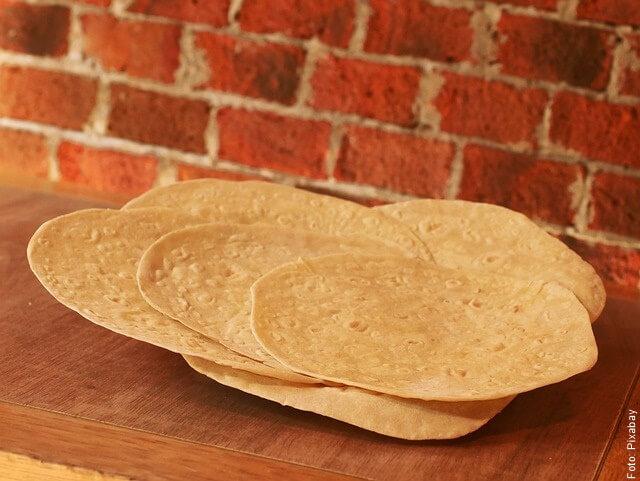 foto de tortillas de maíz
