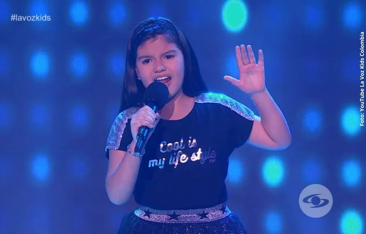 Danna, la niña de 'La Voz Kids' que los televidentes querían que entrara