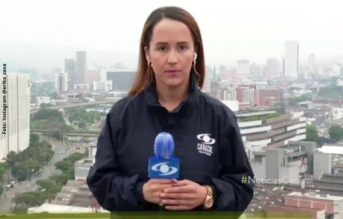 Erika Zapata, presentadora de Caracol, asistió a entrevista sin bañarme