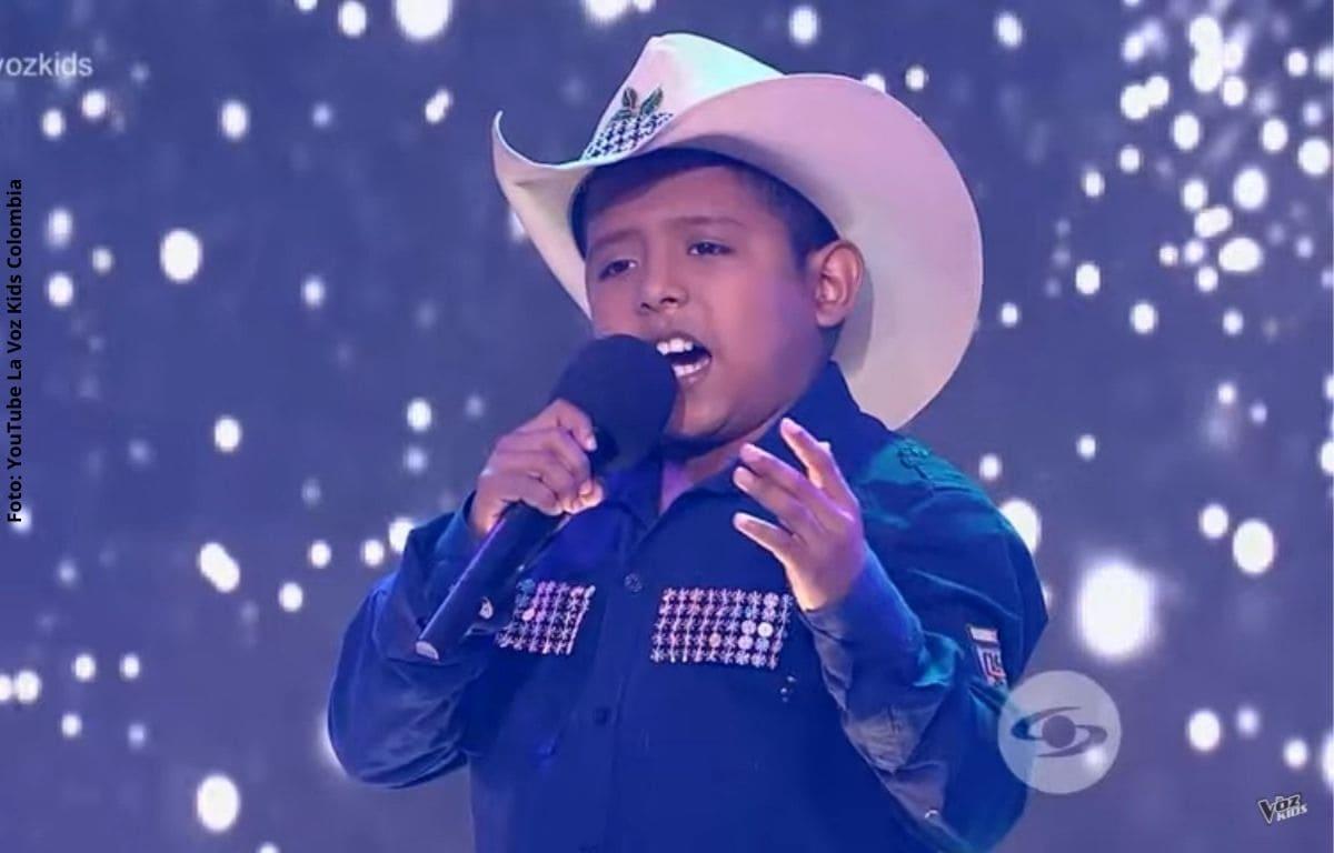 Jackson, quedó eliminado de 'La Voz Kids', pero se fue dejando gran presentación