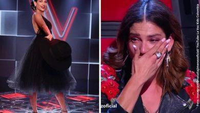 La Voz Kids: Entre lágrimas, Natalia Jiménez tuvo que asumir primera eliminación