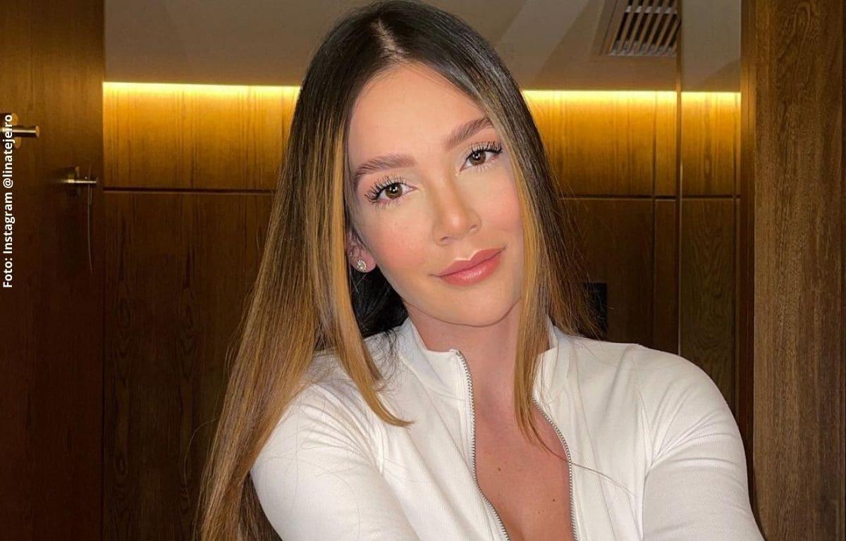 Lina Tejeiro cautivó con una sensual foto donde solo usa una toalla