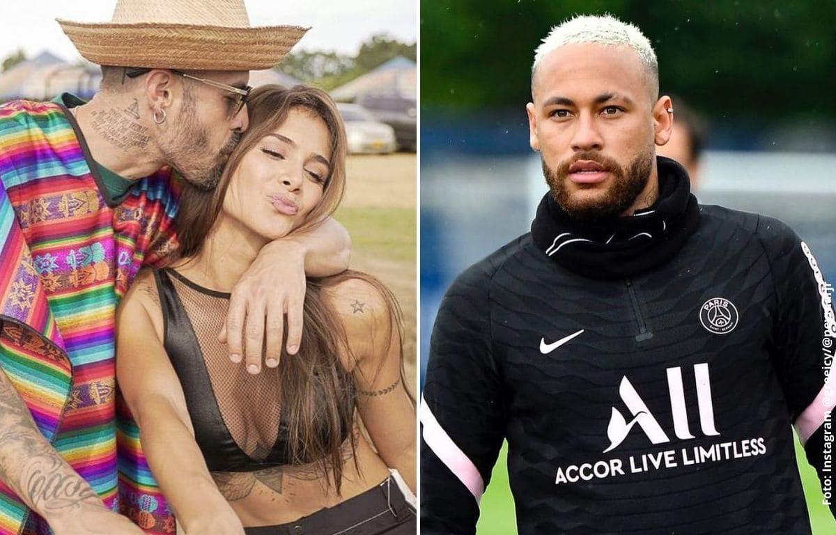 Neymar le coqueteaba a Greeicy, pero ella se quedó con Mike Bahía