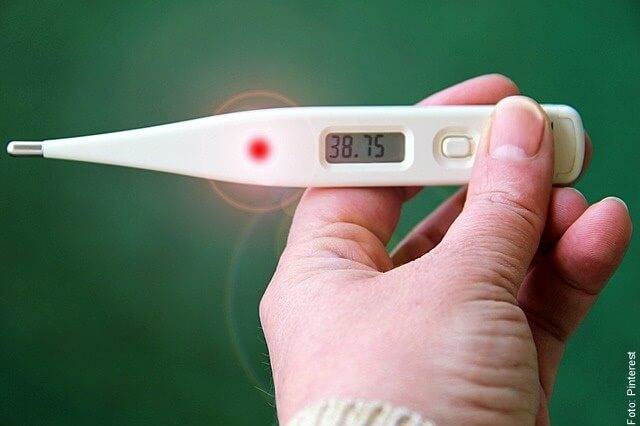 foto de termómetro