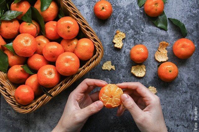 foto de mandarina