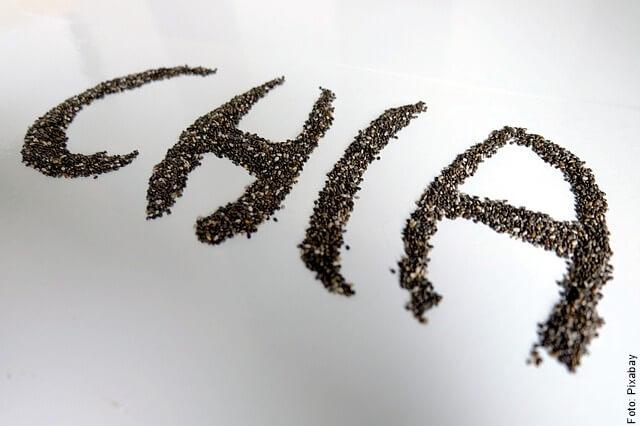 imagen de semillas de chía