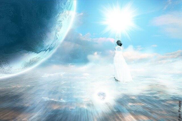 ilustración celestial