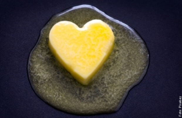 foto de mantequilla derretida